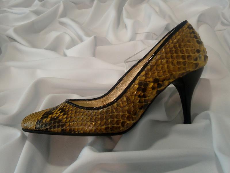 Παπούτσι δέρμα πύθωνα