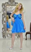 Βραδυνό φόρεμα μεταξωτή μουσελίνα-παγέτα