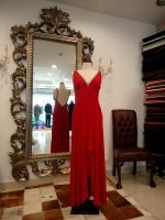 Βραδυνό φόρεμα μεταξωτό ζέρσεϊ