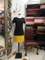 Βραδυνό φόρεμα ελαστικό κρεπ