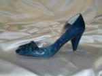 Παπούτσι δέρμα μπλε